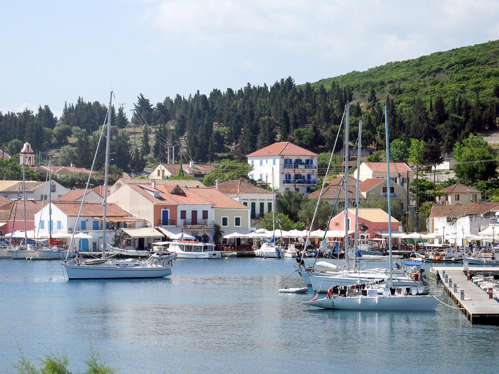 Fiskardo: ideal Greek yacht charter destination