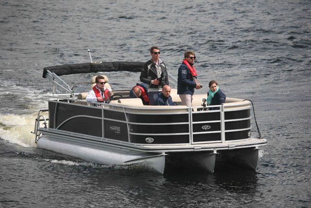 Pontoon boat – party boat