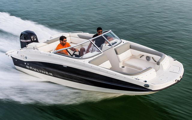 Bayliner 190 Deck boat: five of the best family powerboats