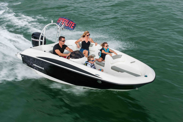 Bayliner Element: new powerboats
