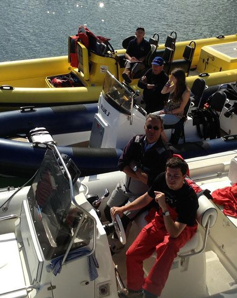 Envy of Round Ireland Powerboat and RIB Challenge competitors