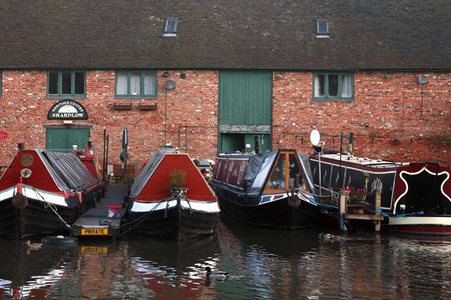 Traditional narrow boats