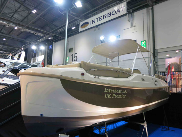 Interboat Neo 7.0 review - London Boat Show 2014
