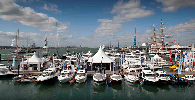 The Southampton International Boat Show is an enjoyable visit.