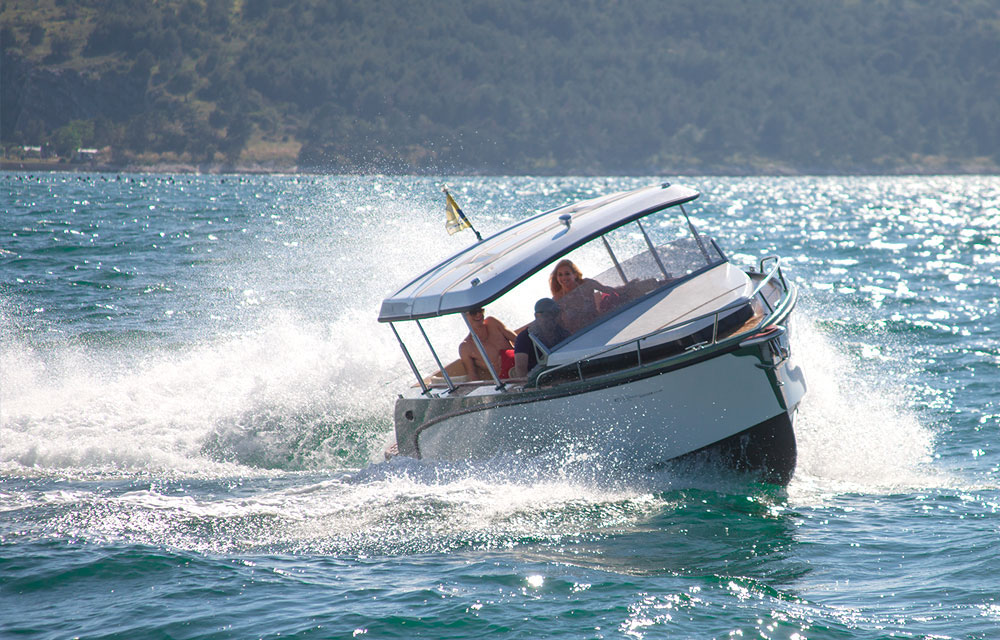 Alfastreet 23 Cabin: best boats from the Southampton show