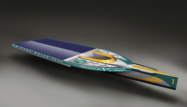 Vripack enters Solar Challenge 2012