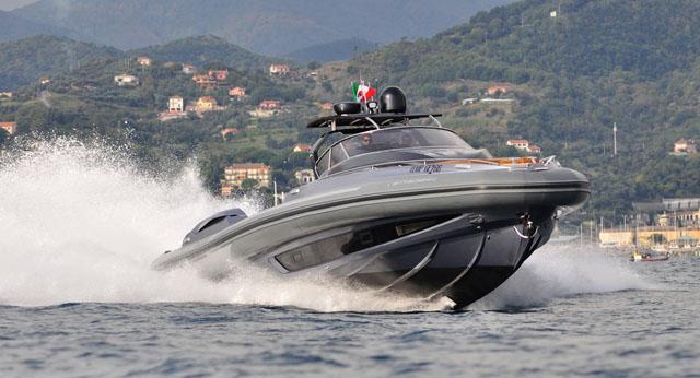 Sacs Strider 19: flagship 60ft RIB