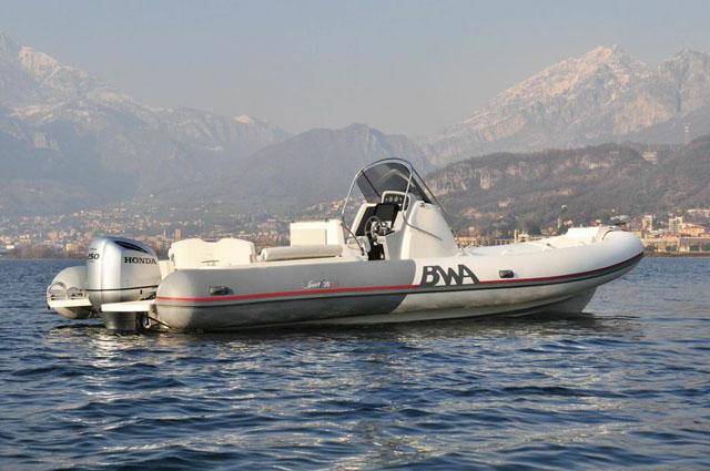 BWA 28 GTc: new flagship for BWA RIBs