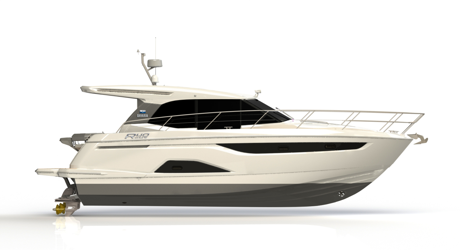 The Coupe joins the Flybridge model as the second R40 from Bavaria.