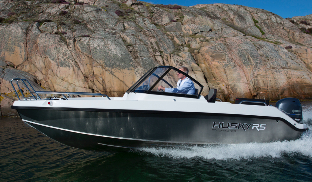 The R5 is the most affordable craft in Finnmaster's new Husky line