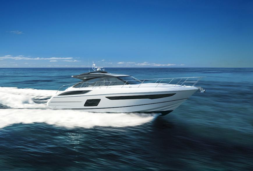 Princess V58 Open - Southampton debut