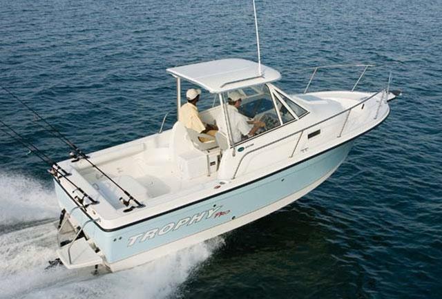 Top fishing boats: Trophy 2152