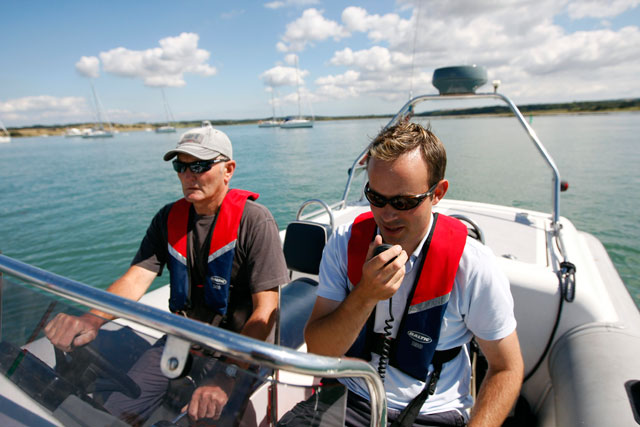 Tuition is a great way to get more from your boat