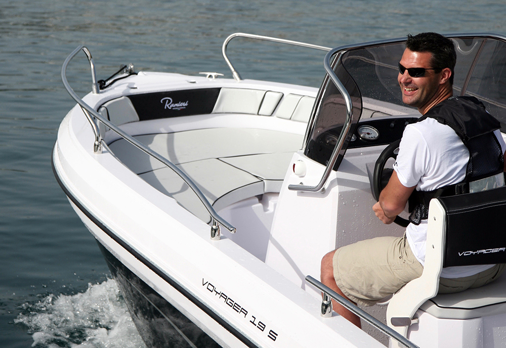 Love your boat: take her out