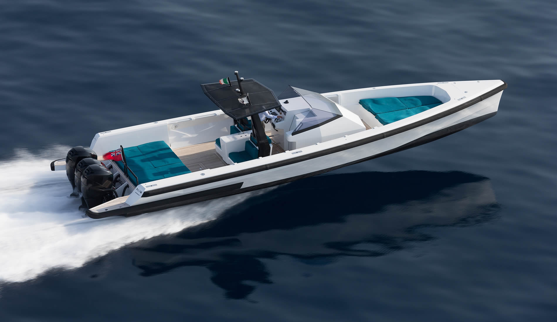 The Wally Tender has been given 900hp and the letter 'X'