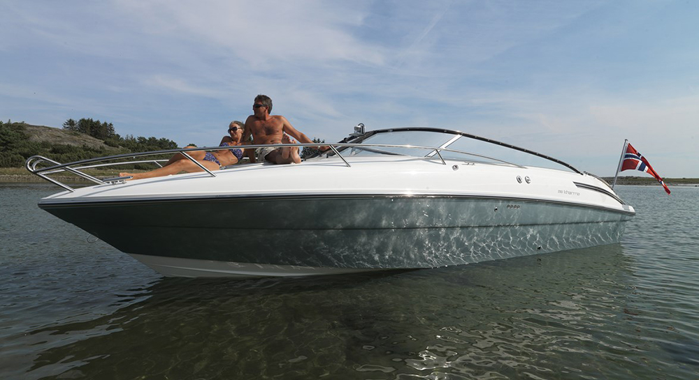 Windy entry-level boat