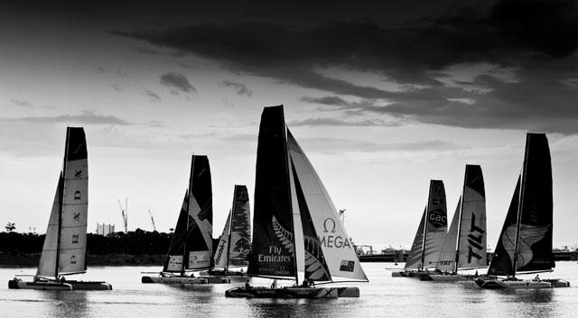Luna Rossa wins Extreme Sailing Series