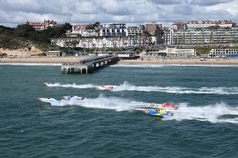 Action from Bournemouth. Photo P1 Superstock.