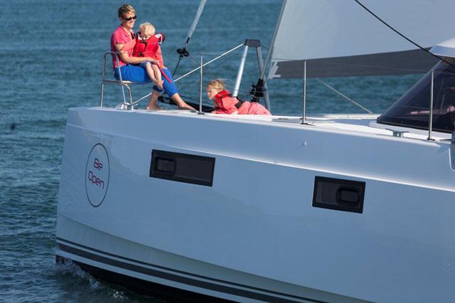 Nautitech Open 40 - performance cruising sailing cat