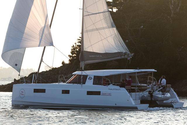Nautitech Open 40: easy to sail
