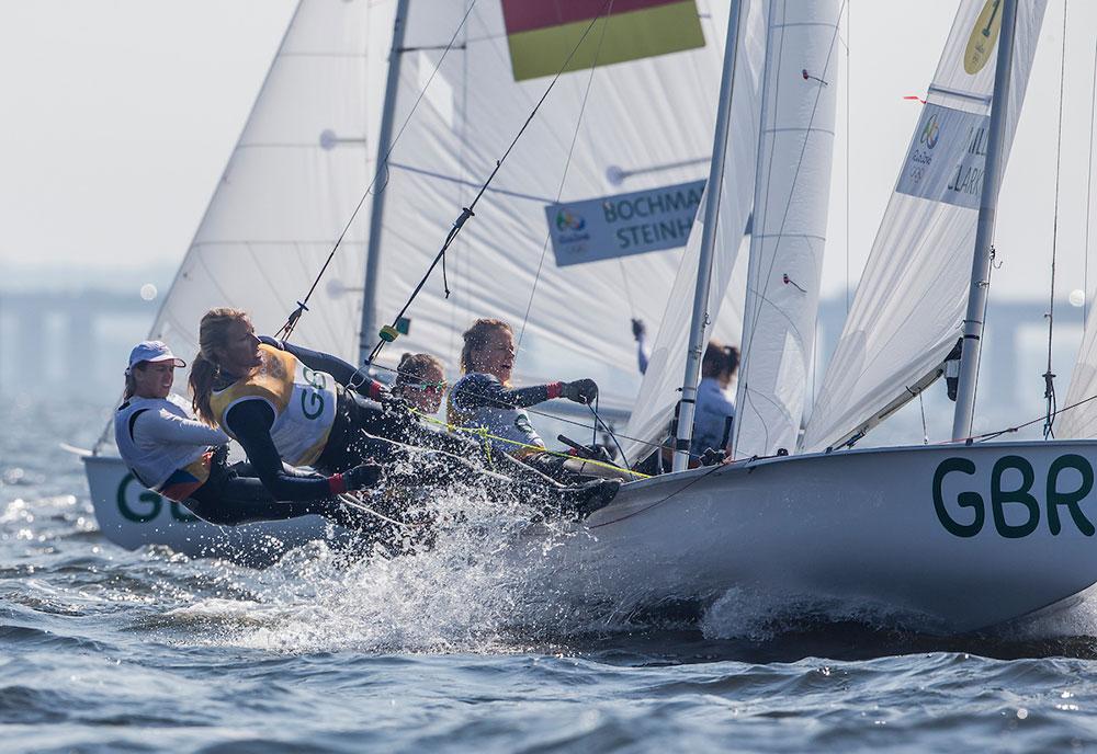 2016 Rio Olympic Games: Sailing: Photo Sailing Energy/World Sailing.