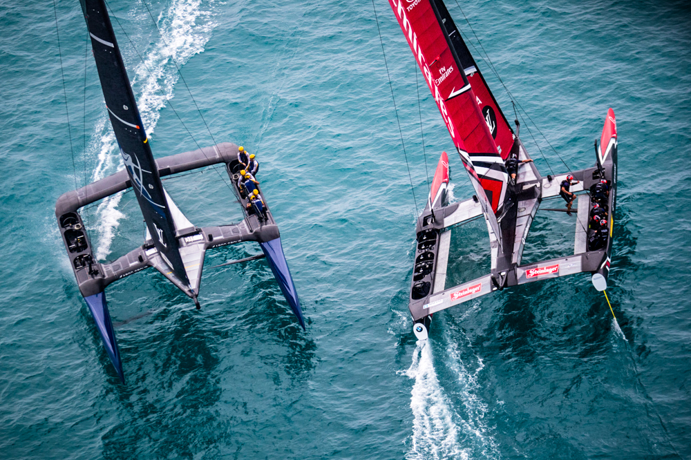 America's Cup 2017 Team New Zealand and Artemis
