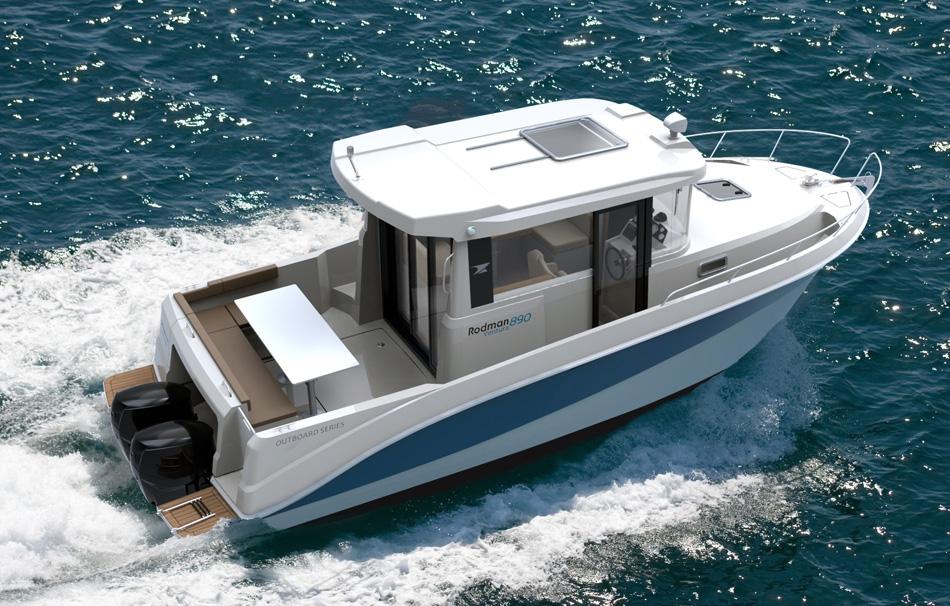 Rodman 890 Ventura – UK powerboat debut