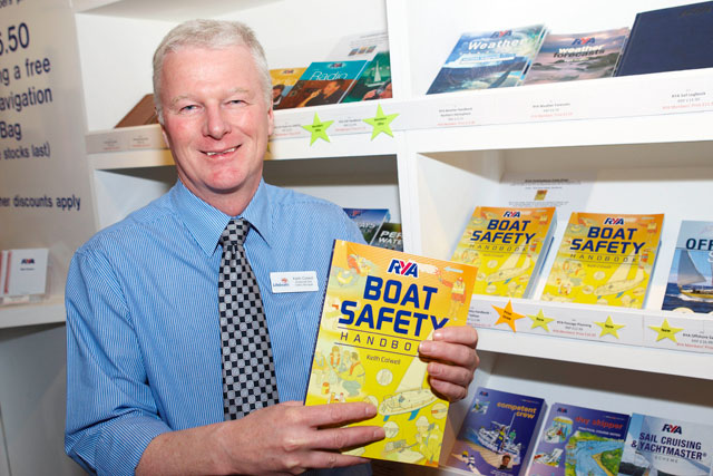 New boat safety handbook from the RYA