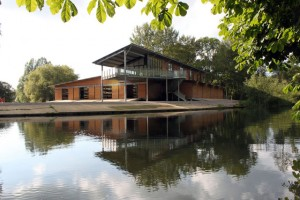 Bryanston School boathouse