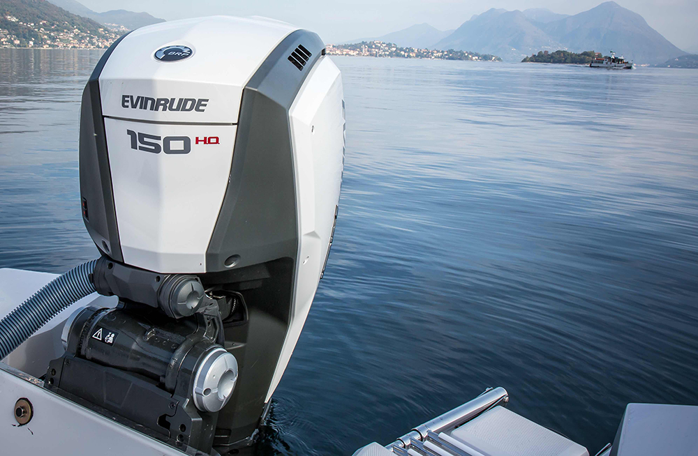 outboard engines: Evinrude G2