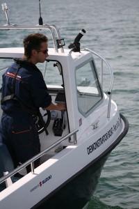 Sea Champion 18 helm