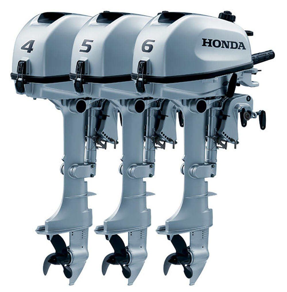 Outboard engines: Handa BF6