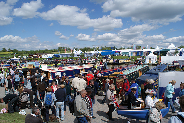 The Crick Boat Show is the UK's premier inland event.