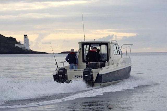 Top fishing boats: Powercat 695