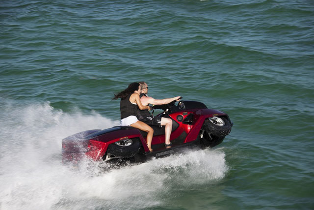 Gibbs Quadski XL: best amphibious vehicles