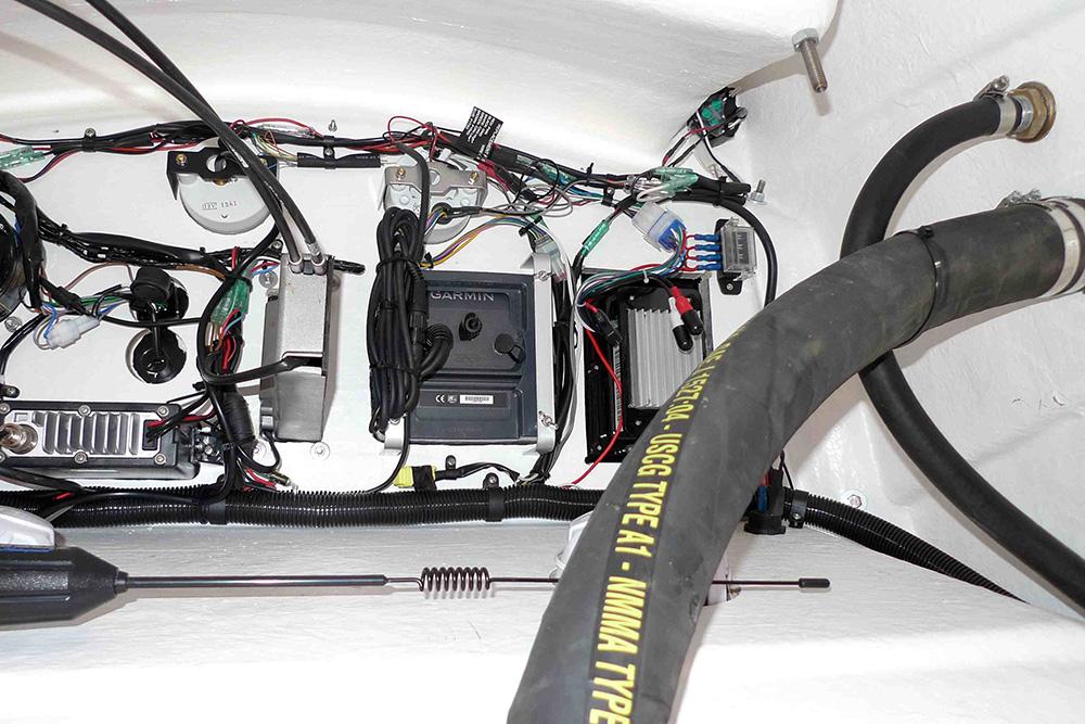 Heat-shrunk connectors