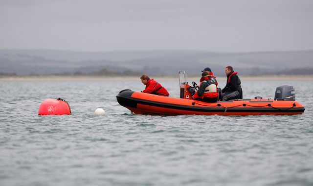 RIB training for basic Powerboat Level Two