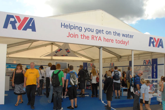 RYA at the Southampton Boat Show