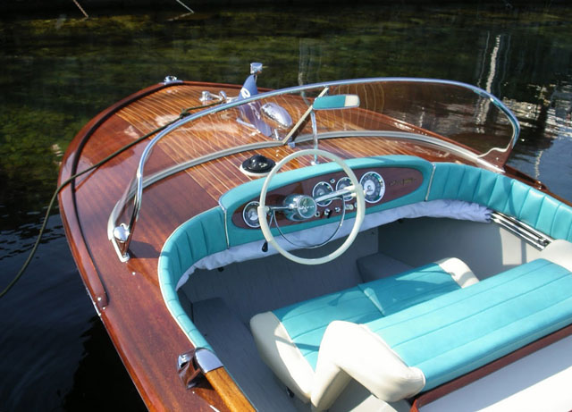 Vintage Riva Junior for sale at London Boat Show