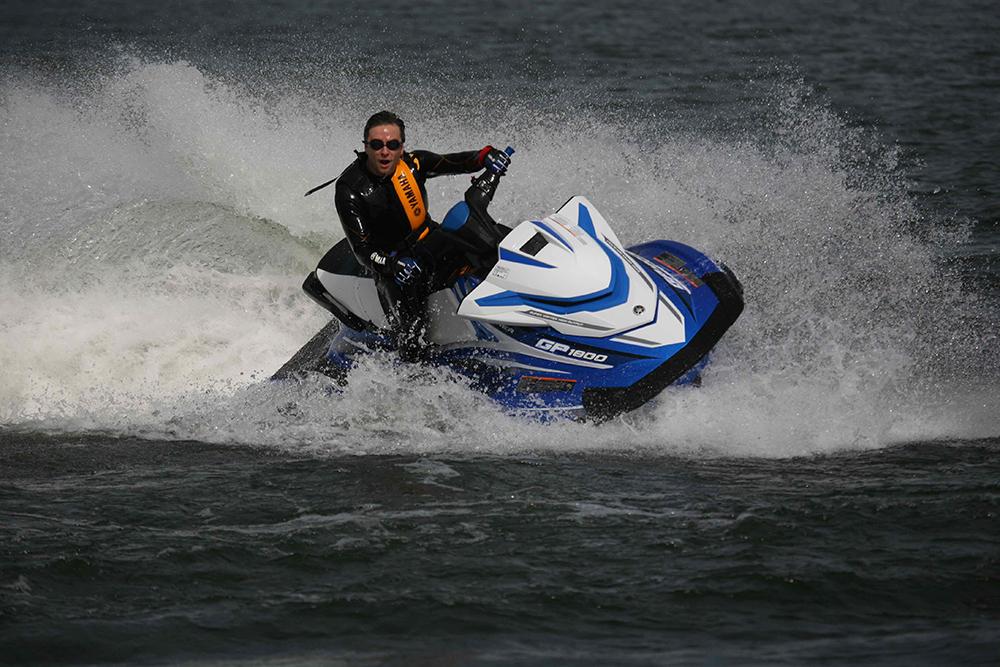 Racing powerboats: GP1800 jetski