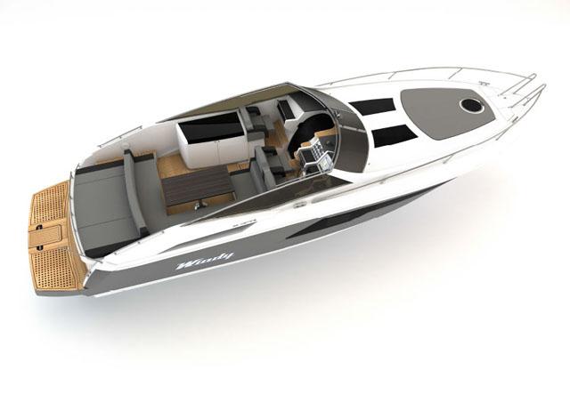 Sun lounge cockpit – Windy 39 Camira