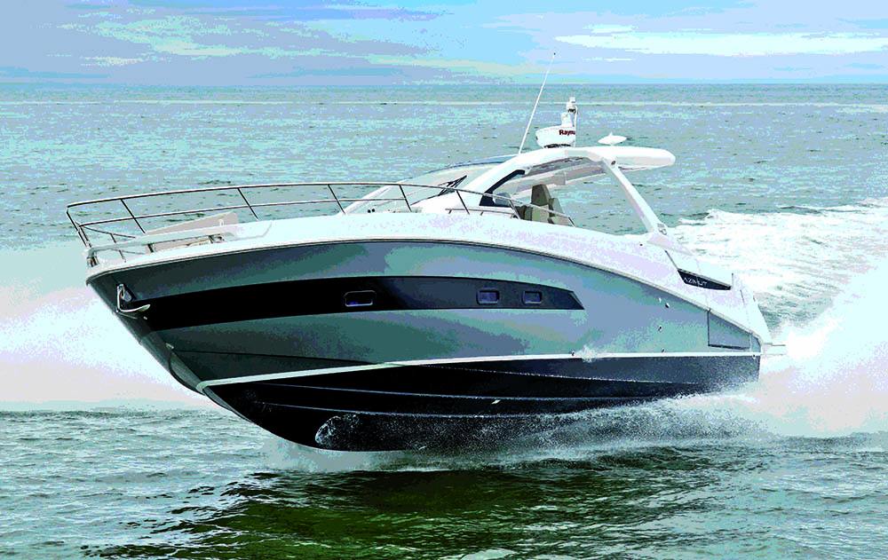 Azimut Verve 40 world premiere