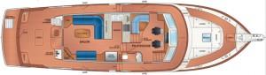 Fleming 58 - redesigned interior