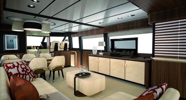 Main deck – Azimut Magellano 66
