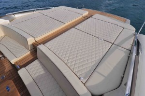 SACS Strider 18 review: sunbathing space
