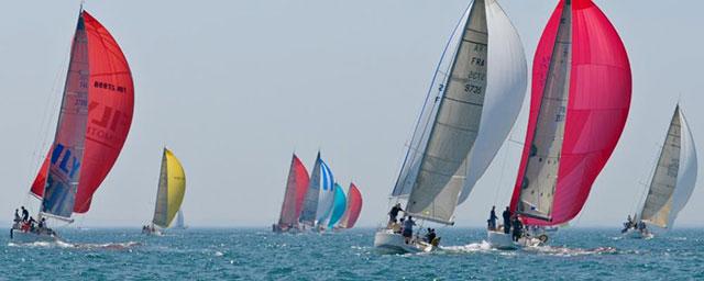 Saltica Sailing Race arrives for the Fowey Festival
