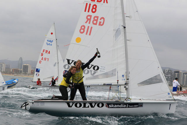 First British 470 worlds win for Mills and Clark