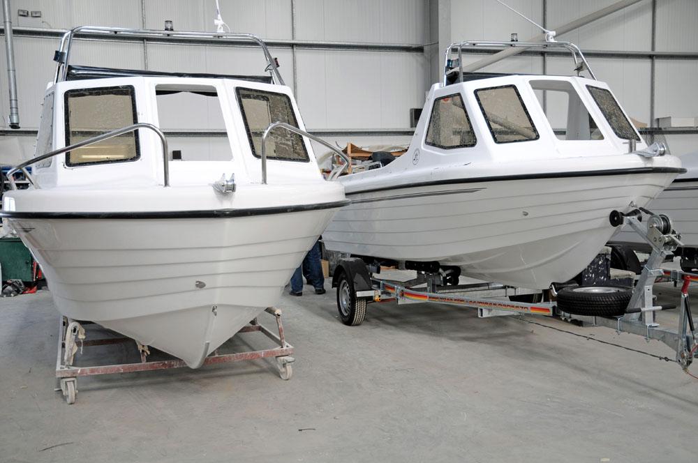 Fishing boats – V-hulls