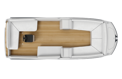 Interboat Neo 7.0 review: Lounge layout