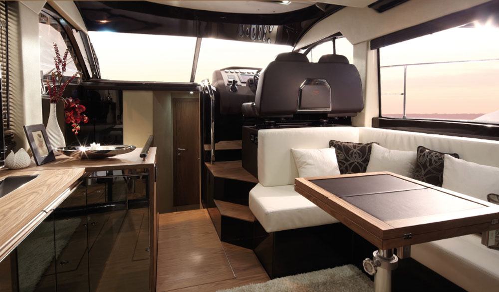 Galley and helm layout – Sessa Fly 42 review